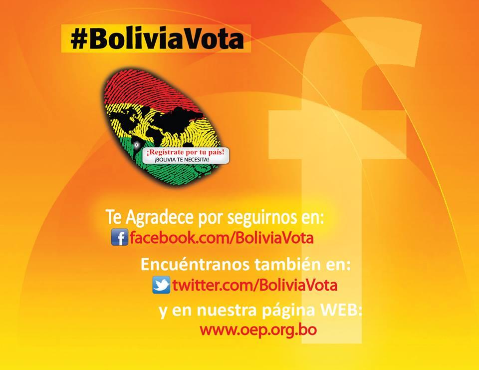 Bolivia Vota en las Redes Sociales
