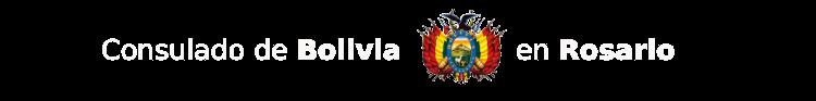 Consulado de Bolivia en Rosario - Argentina