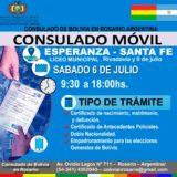 Evo Morales Ayma - Consulado de Bolivia en Rosario - Argentina